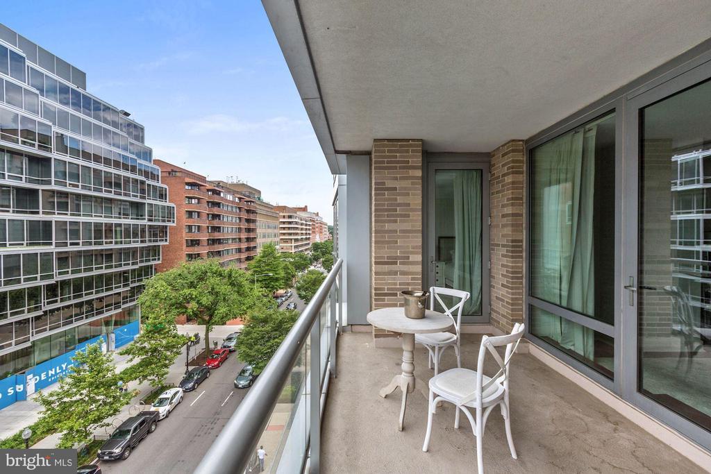 Balcony - 1111 23RD ST NW #6A, WASHINGTON