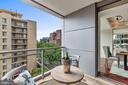 Kitchen Balcony - 1111 23RD ST NW #6A, WASHINGTON