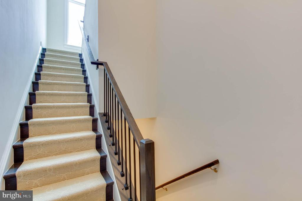 Stairs up and down - 1851 MICHAEL FARADAY DR, RESTON