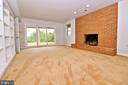 Cozy up to the brick fireplace - 19745 SHELBURNE GLEBE RD, PURCELLVILLE