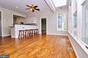 Room for a large dining table - 19745 SHELBURNE GLEBE RD, PURCELLVILLE