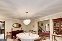 Interior - Dining Room 2 - 17007 BARN RIDGE DR, SILVER SPRING