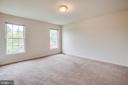 Master bedroom - 1015 MYRICK ST, FREDERICKSBURG