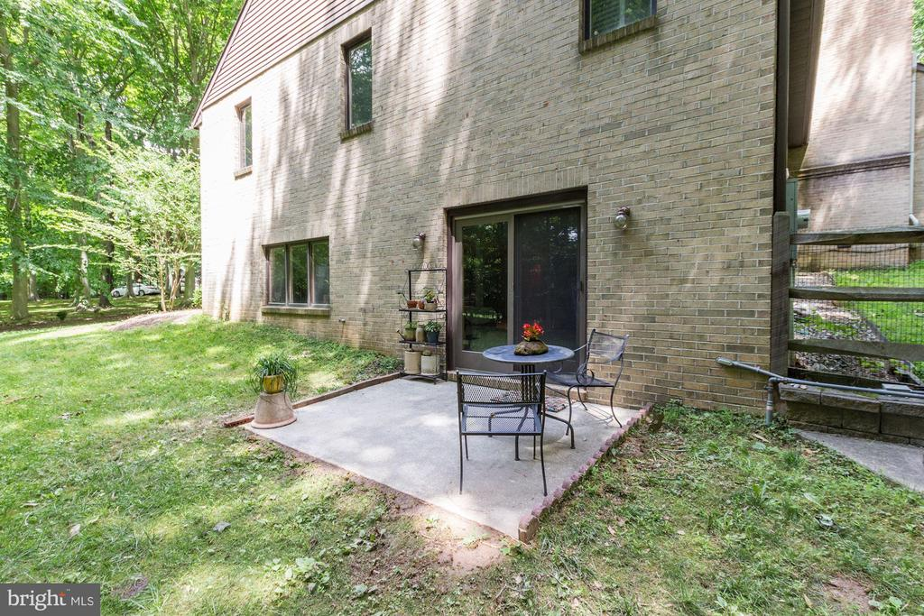 Exit from from Recreation Room to small patio - 17007 BARN RIDGE DR, SILVER SPRING