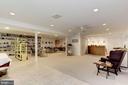 Lower Level - Recreation Room - 17007 BARN RIDGE DR, SILVER SPRING