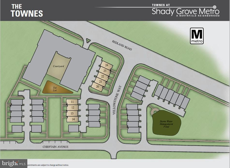 Units Available - 7918 YELLOWSTONE WAY, ROCKVILLE