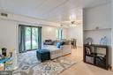 Open Concept Living / Dining Room - 6280 EDSALL RD #201, ALEXANDRIA