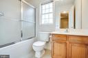Hall Bath - 1015 MYRICK ST, FREDERICKSBURG