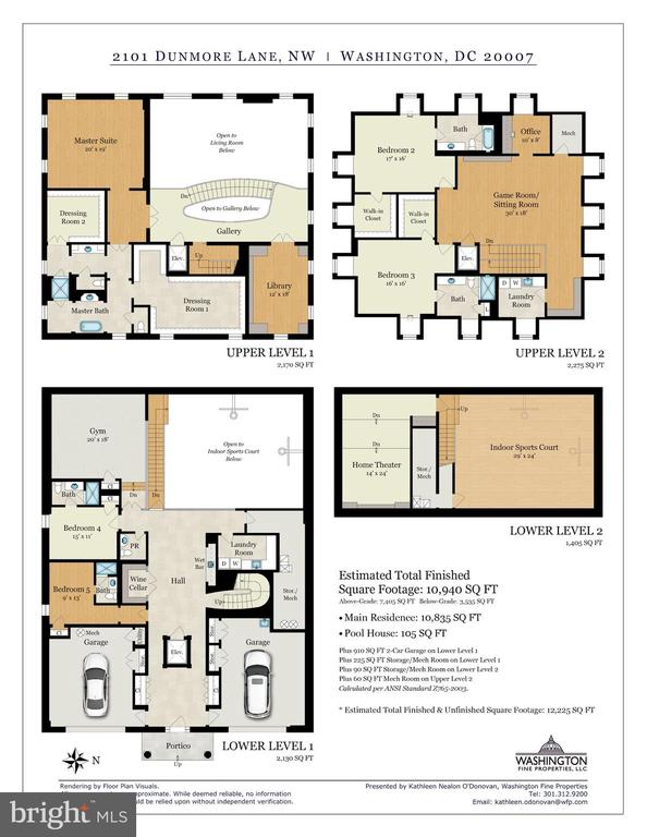 Floor Plans - 2101 DUNMORE LN NW, WASHINGTON