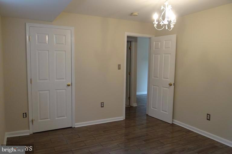 Owner's bedroom with walk-in closet - 3710 N ROSSER ST #T3, ALEXANDRIA