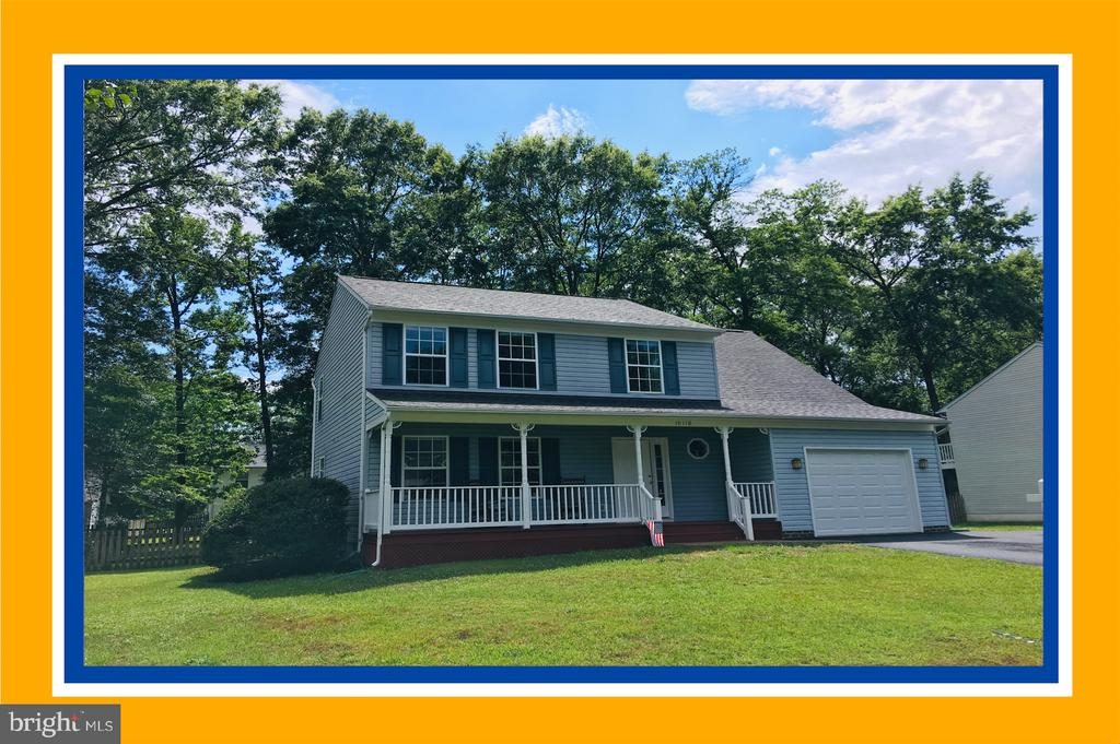 Delightful Colonial with Front Porch Sitting! - 10118 S FULTON DR, FREDERICKSBURG