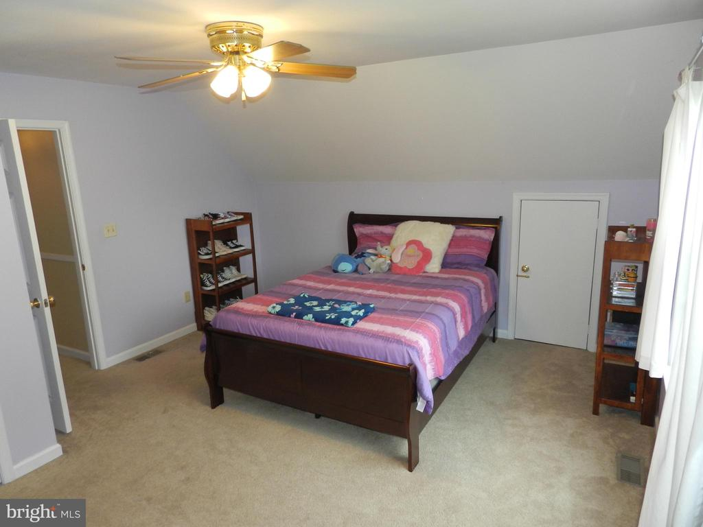 Bedroom #2, styling and smiling! - 10118 S FULTON DR, FREDERICKSBURG