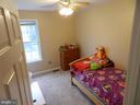 Bedroom #3, tigger gives it a thumps up! - 10118 S FULTON DR, FREDERICKSBURG