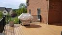Outdoor Trex deck - 26592 MARBURY ESTATES DR, CHANTILLY