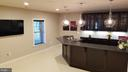 Basement Wet Bar - 26592 MARBURY ESTATES DR, CHANTILLY