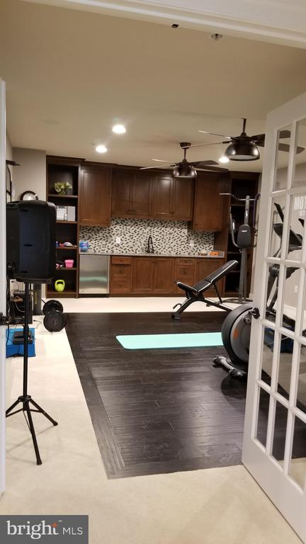 Exercise room - 26592 MARBURY ESTATES DR, CHANTILLY