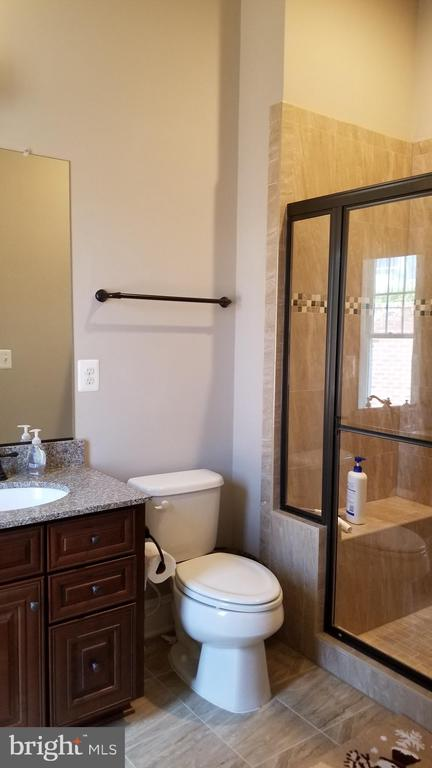 First floor en-suit bathroom - 26592 MARBURY ESTATES DR, CHANTILLY