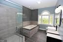Bathroom - 28500 RIDGE RD, MOUNT AIRY