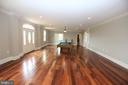 Living Room / Main Entrance - 28500 RIDGE RD, MOUNT AIRY