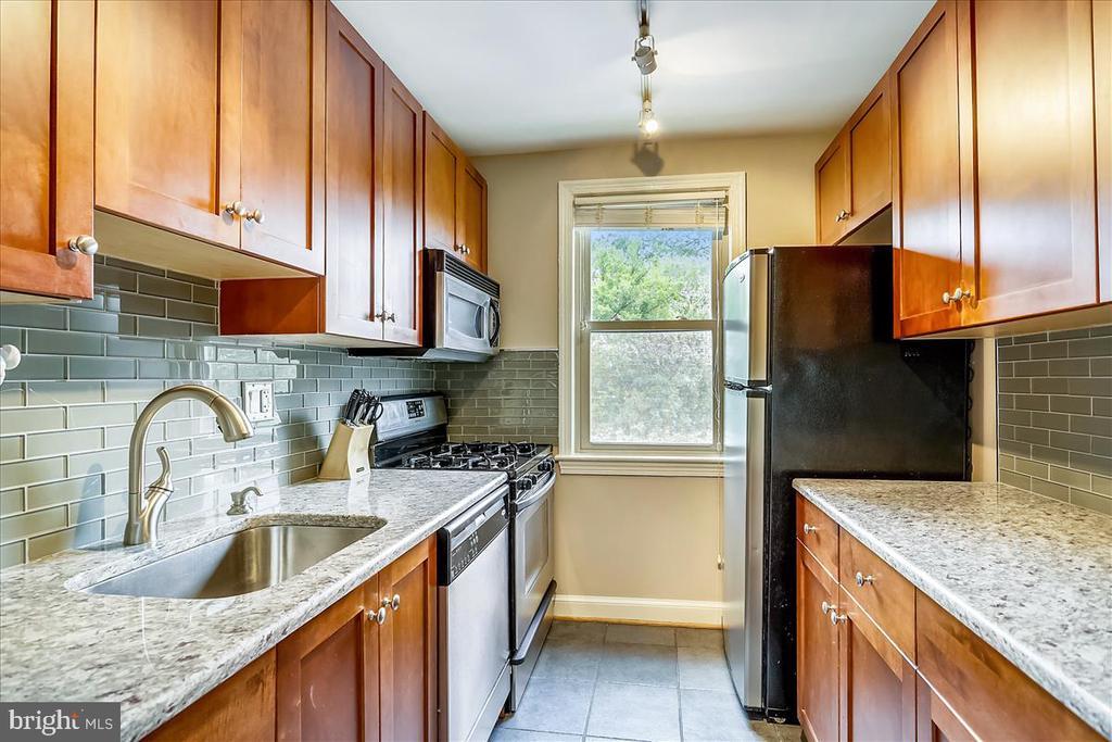 Galley Kitchen - 4402 1ST PL NE #33, WASHINGTON