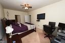 Spacious Master bedroom with office - 160 BURLEY ST #101, STAFFORD