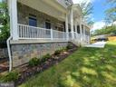 Large Front Porch - 10713 JONES ST, FAIRFAX