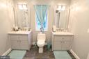 Jack N Jill Bathroom - 10713 JONES ST, FAIRFAX