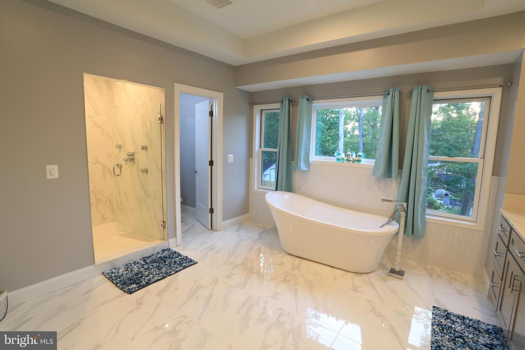 Upper - Level  Master Bathroom - 10713 JONES ST, FAIRFAX