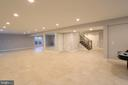 Basement - Spacious - Great for entertaining - 10713 JONES ST, FAIRFAX