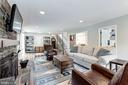 Expansive family room - 6244 COLUMBIA PIKE, FALLS CHURCH