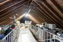 Huge walk up attic ready to be finished! - 6244 COLUMBIA PIKE, FALLS CHURCH