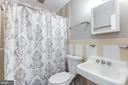 Full Bathroom on second level - 6244 COLUMBIA PIKE, FALLS CHURCH