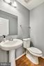 half bath on the main level - 25635 LAUGHTER DR, ALDIE
