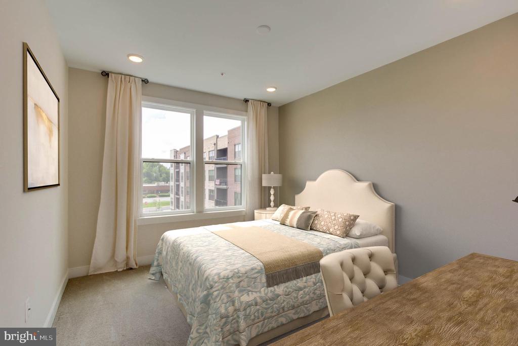 Bedroom 3 (Virtually Staged) - 1851 MICHAEL FARADAY DR, RESTON