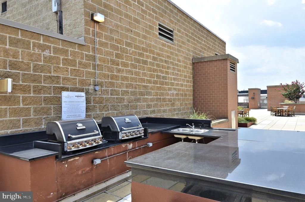 Roof Top Grills - 616 E ST NW #302, WASHINGTON