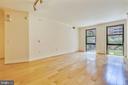 Sun-Filled Living Room - 616 E ST NW #302, WASHINGTON
