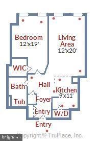 Floor Plan - 616 E ST NW #302, WASHINGTON