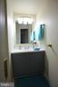 Sink area in Hall Bath - 8826 CHALLENGE WALK, FREDERICK