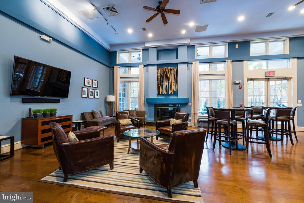 Social Room in the Clubhouse - 12075 TRUMBULL WAY, RESTON