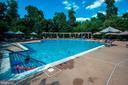 Gorgeous outdoor pool - 12075 TRUMBULL WAY, RESTON