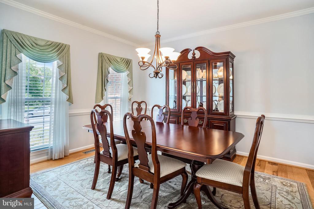 Main Dinning Room - 6343 WILLOWFIELD WAY, SPRINGFIELD