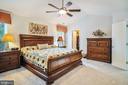 Master Bedroom - 6343 WILLOWFIELD WAY, SPRINGFIELD