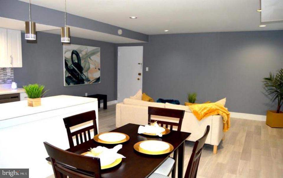Dining Area - 12311 BRAXFIELD CT #1, NORTH BETHESDA