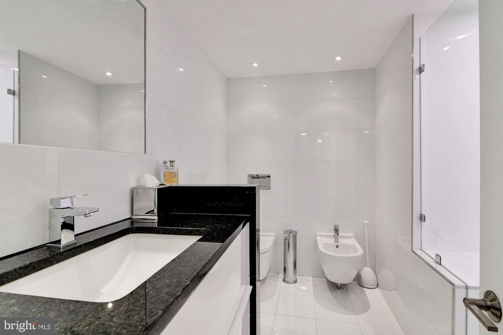 Master Bathroom 2 with Shower and Bidet - 2500 VIRGINIA AVE NW #502/503, WASHINGTON