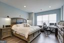 Master Bedroom easily accommodates king bed - 22983 WORDEN TER, BRAMBLETON