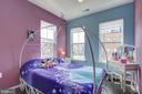 Bedroom 2 with designer paint - 22983 WORDEN TER, BRAMBLETON
