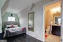 Dormer easily fits a full size bed - 22983 WORDEN TER, BRAMBLETON