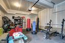 Oversized 2-Car Garage with high ceilings - 22983 WORDEN TER, BRAMBLETON