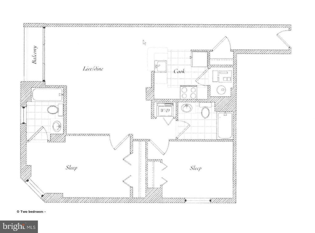 UNIT #325 FLOORPLAN - 880 N POLLARD ST #325, ARLINGTON
