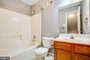 Upstairs Full Bath - 12640 BELLEFLOWER LN, FREDERICKSBURG